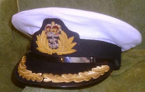 Royal Navy Caps and Hats