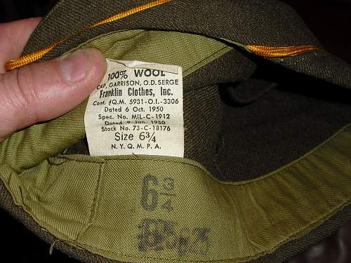 US Hat, just after the war.