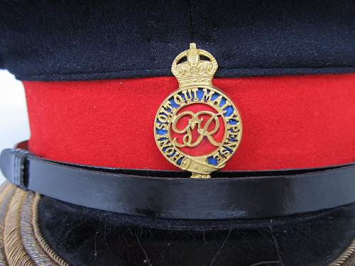Life Guards officer's forage cap
