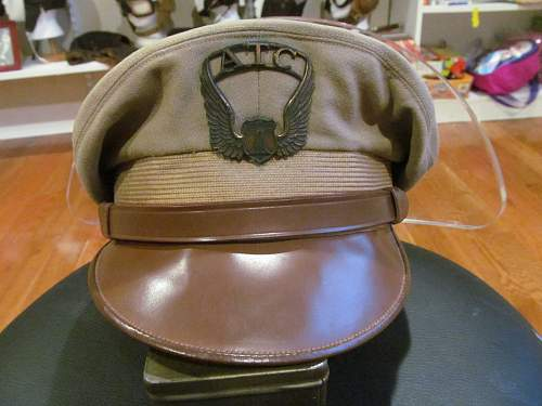 Air traffic command visor cap