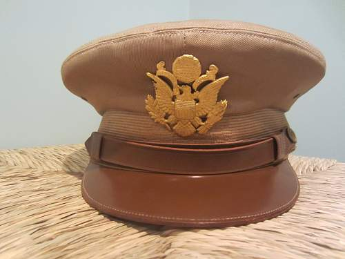 Officers Tan Visor