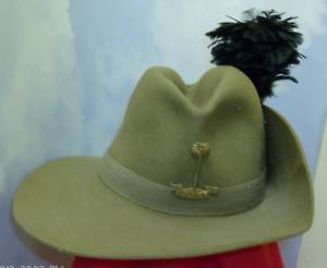 British/ East African issue slouch hat?