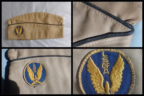 WW2 U.S. Overseas Cap with Patch ?