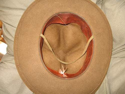 The J. B. Stetson Campaign Hat Officer's WW2