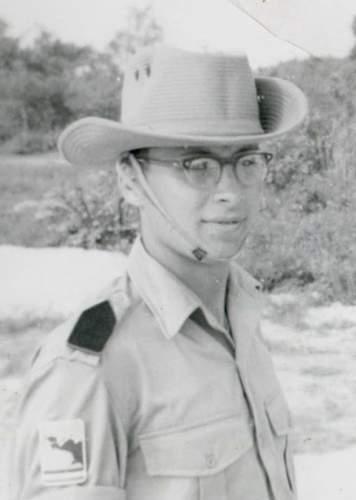 Aust/British Bush Hat Malaya '65