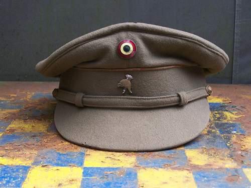 Belgian mod.1928  NCO peaked cap