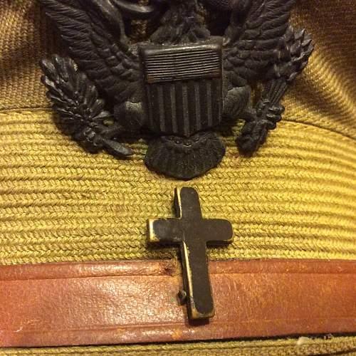 A.E.F Chaplains visor