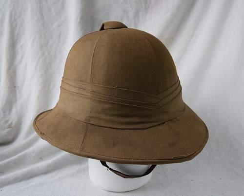 British & Commonwealth sun helmets