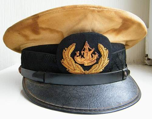 Australian made Service Caps for the Dutch (Dutch Eastindies) during ww2 in Australia