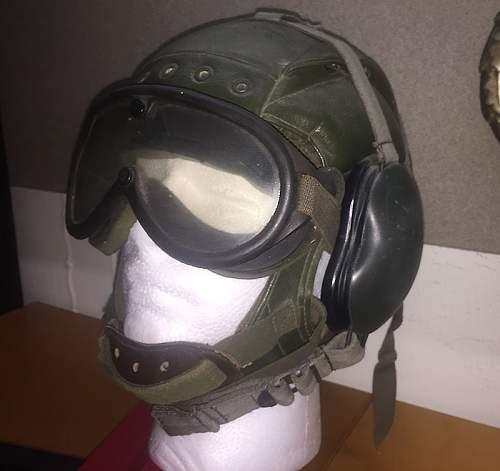 Flight helmet or prop?
