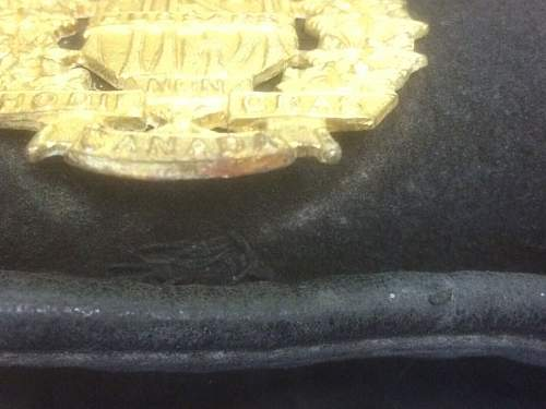 1st Hussars Beret - Original WW2?