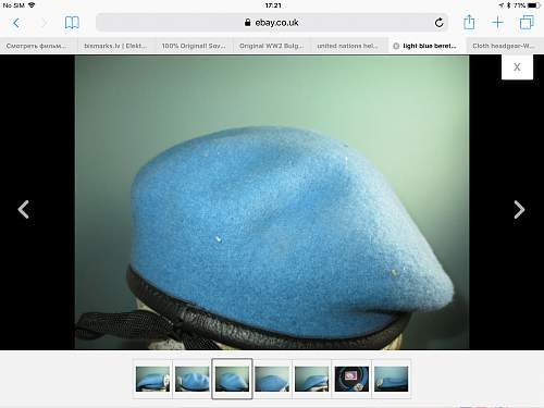 UN light blue beret???