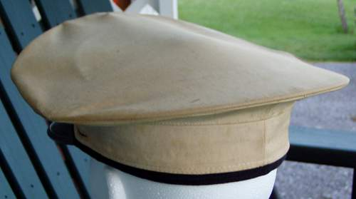1 Unfollow this topic USMC White Canvas Cap (well, was white at one time)