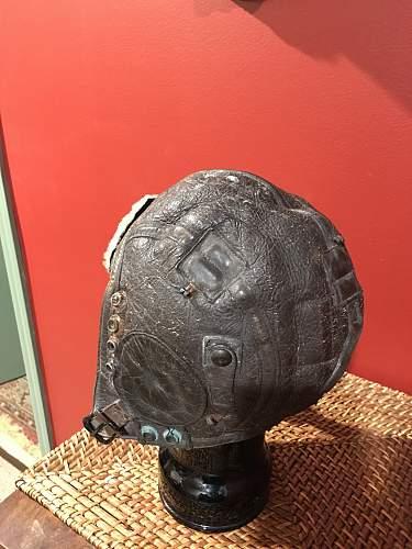 Salty B6 flight helmet
