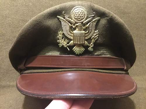 Two US Air Force Head Gear Displays
