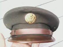 WW2 US enlisted mans visor cap: real or fake?