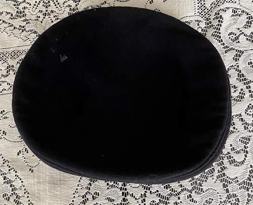 USN Pattern 1933 Flat Hat Named