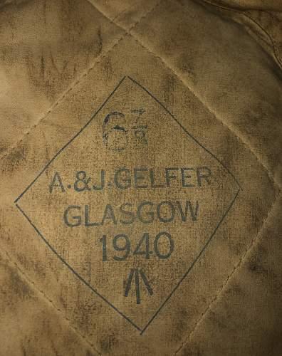 WW2 1940 Gordon Highlanders Tam O' Shanter