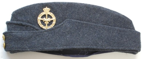 WWII British Royal Air Force RAF officer's & hat badge