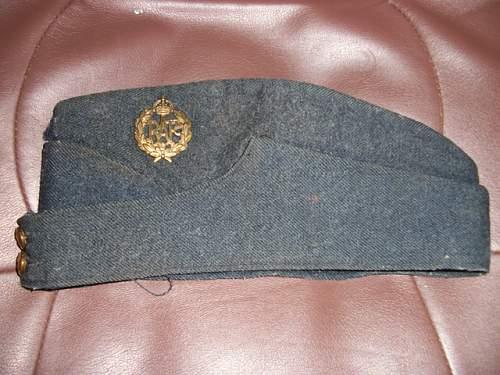Canadian made airman's cap
