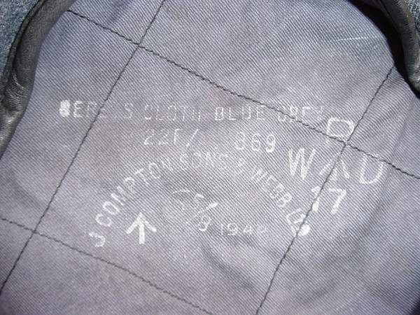RAF Beret, cloth, blue grey.