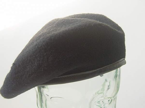 The Royal Tank Regt black beret
