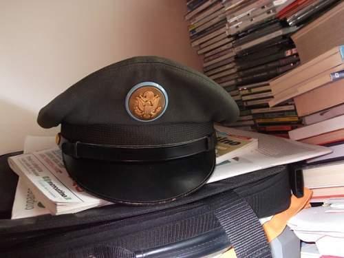 My 2 visor caps