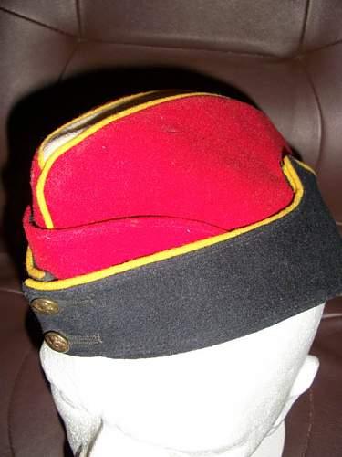 Coloured Field Service Cap ID please