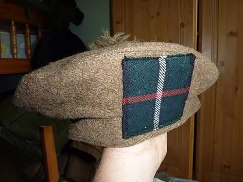 Balmoral bonnet.