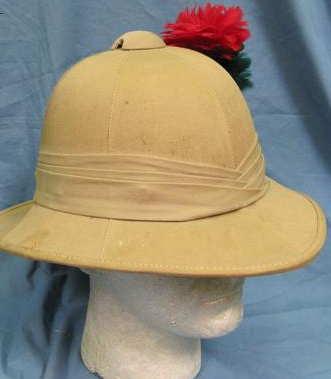 British tropical  helmet...Military or Civil?  WW2?