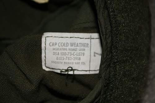 Cold Weather Helmet Liner