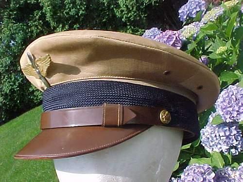 Aaf cadet visor cap
