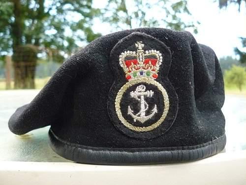 Black Naval Beret
