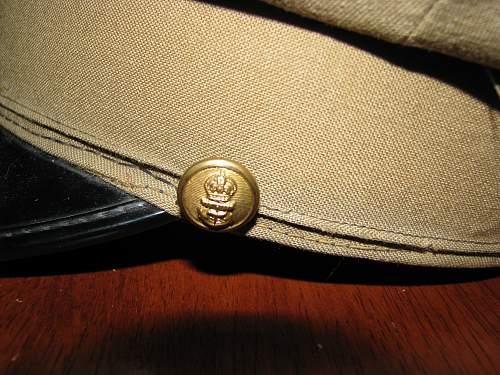 Newbie: Post WW2 Canadian Naval Cap?