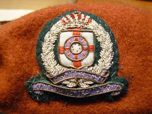Frontiersmen Countess Mountbattens Own Beret Cap badge