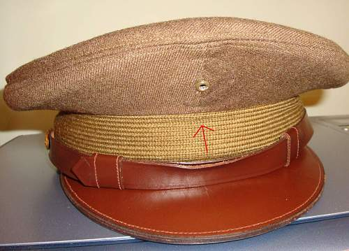 US Army Cap - Is this an Officer's Cap or Enlisted Man's
