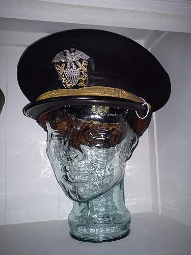 US Navy visor: What is this?