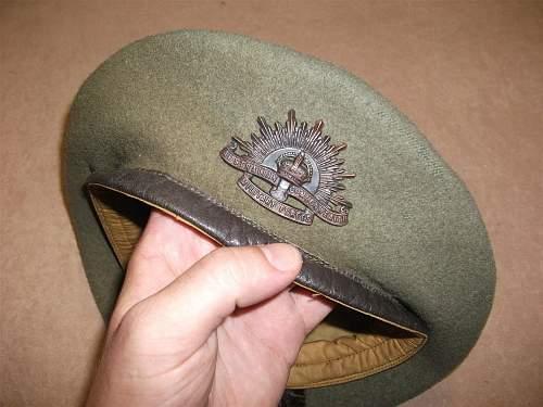 Ausi Beret WW2?