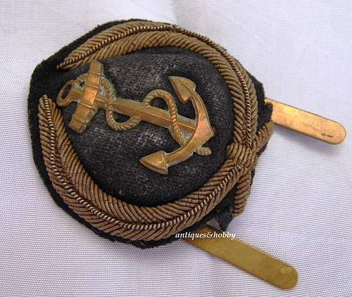 French hat badge