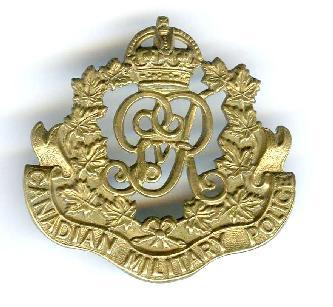 Canadian MP/Provost  Cap Badges