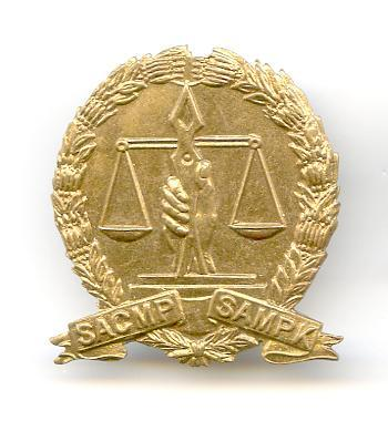 South AFrican MP Cap Badges