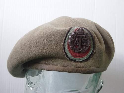 British ATS beret