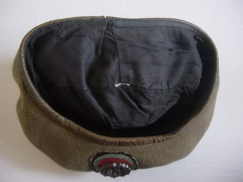 Click image for larger version.  Name:ATS Beret remains of paper label.jpg Views:127 Size:244.3 KB ID:33479