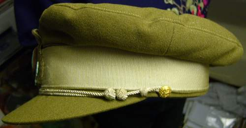 Danish Officer's cap - 100% original Pre-War ?