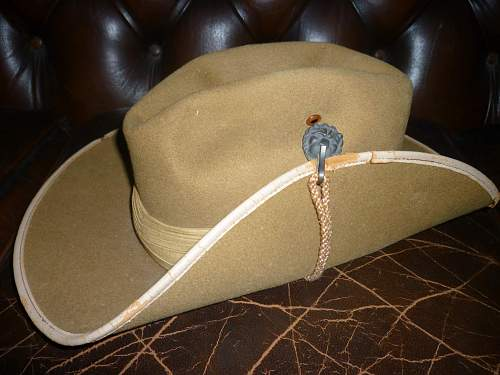 Click image for larger version.  Name:5th Victorian Mounted Rifles Slouch hat.jpg Views:1436 Size:251.3 KB ID:347837