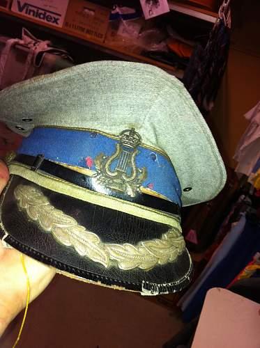British peaked caps ?