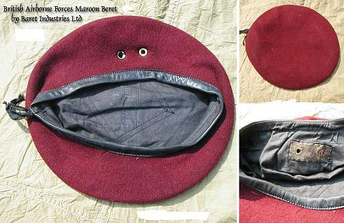 The WW2 British Airborne Forces Red Beret