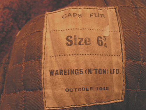 anyone know who  this 1942 british  cap was made forwhich Army?