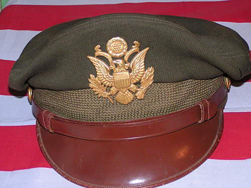 WW2 USAAF visor hat