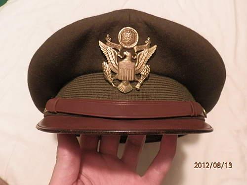 Luxenberg Officers Cap